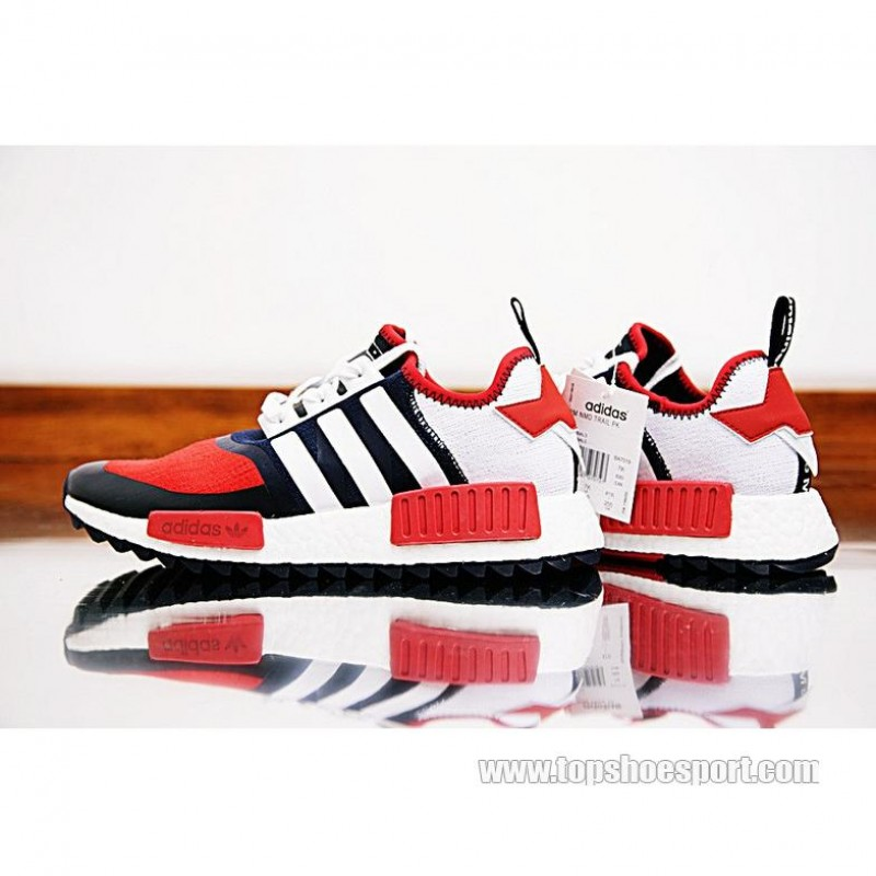 separation shoes 05d70 a422e 激安 White Mountaineering adidas NMD Trail PK red/blue/white ...