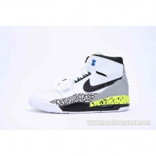 20 新作 【ナイキ】 ジョーダン レガシー312  AQ4160-107  Nike AIR JORDAN LEGACY 312 white/black-volt-vivid blue