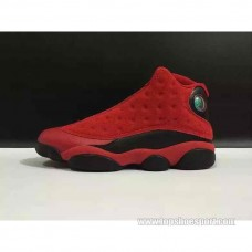 888164-601 AIR JORDAN 13 RETRO SINGLES DAY WHAT IS LOVE GYM RED/BLACK エアジョーダン 13 レトロ シングルズデイ ワット イズ ラブ
